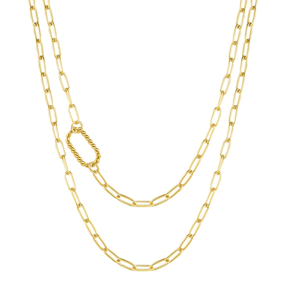 2WAY long necklace ネックレス