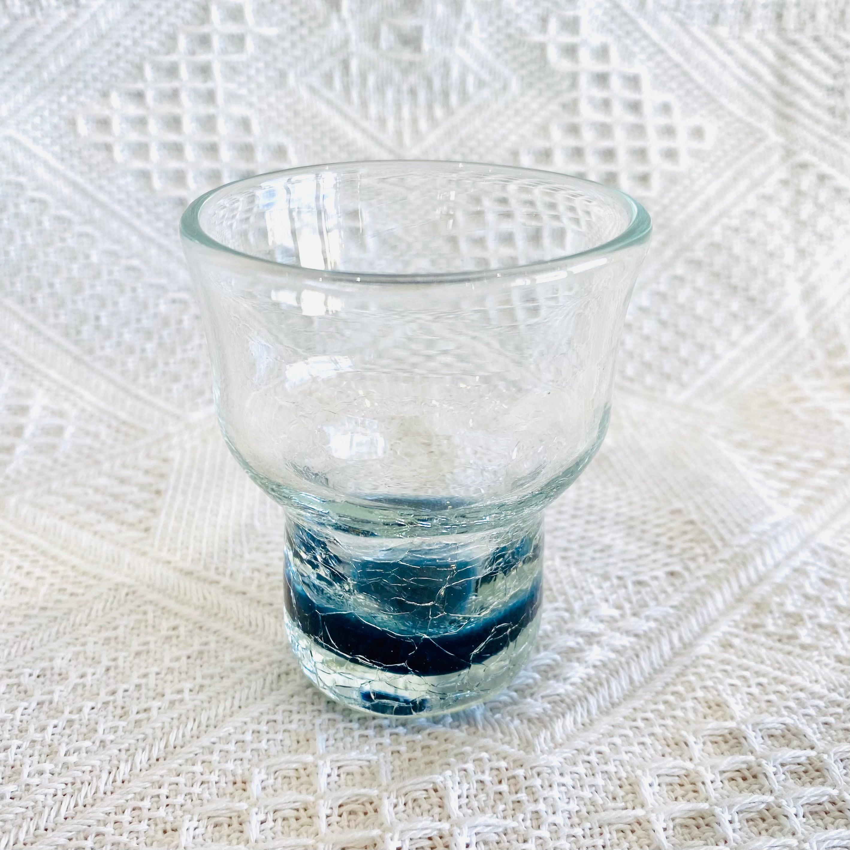 『ガラス工房ロブスト』冷酒ヒビグラス