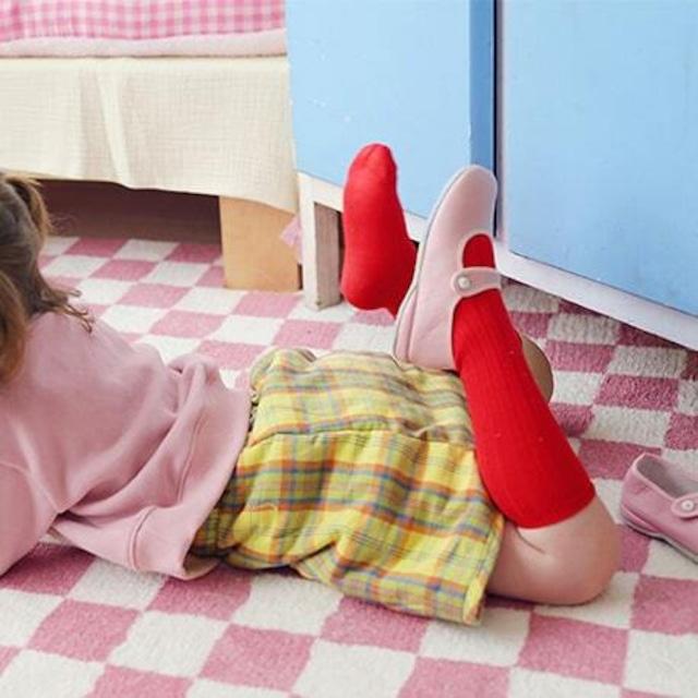 «先行予約割引»«Mardi Amber» Silket Socks シルケットソックス