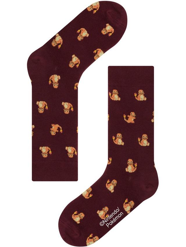 【Pocket Monsters socksappeal】HITOKAGE【ポケットモンスター ソックスアピール】ヒトカゲ