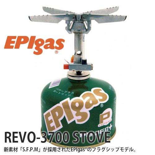 EPIgas(イーピーアイ ガス) REVO-3700 STOVE ストーブ 小型 ガスバーナー コンロ アウトドア キャンプ グッズ サバイバル ゴトク S-1028