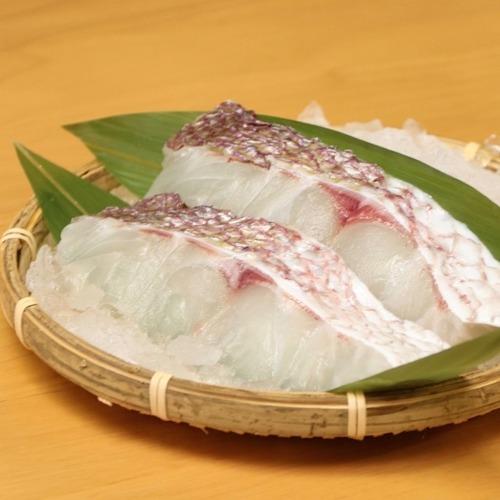 【お得なセット】天草産 真鯛の切り身(70g×5パック)&カマ(1対×5パック)