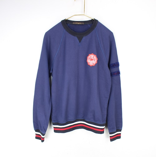 .LOUIS  VUITTON EMBLEM SWEAT SHIRT MADE IN ITALY/ルイヴィトンワッペンスウェット2000000054476