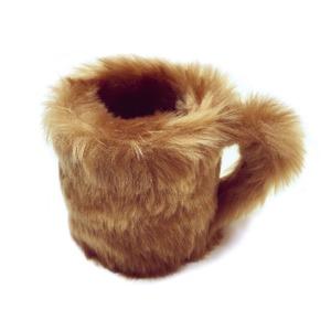 フワフワモフモフなテイルマグ「私はコーヒーが飲めません」Golden Bear