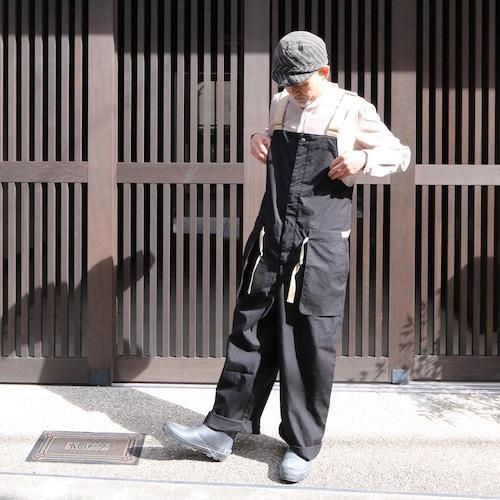 ASEEDONCLOUD/アシードンクラウド shared work wader #212503 oiled sail cotton  black