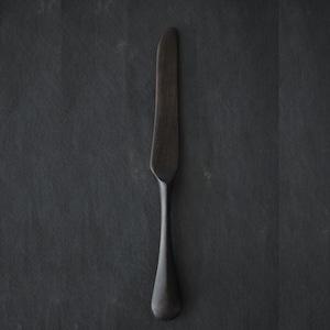 北山栄太 Eita Kitayama  メイプルカトラリー ウッドナイフ  山桃(草木染+鉄媒染)