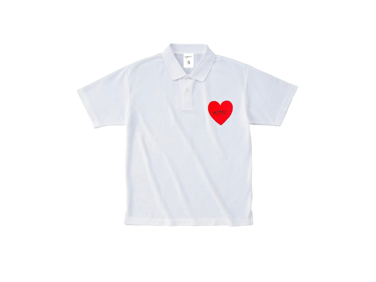 1991 Heart Patch polo-shirts (WH)