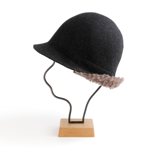 mature ha./widen free hat boa/charcoal melange