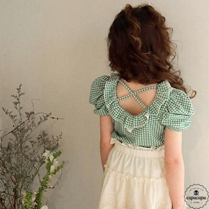 «sold out» flo mary tops 2colors メリートップス