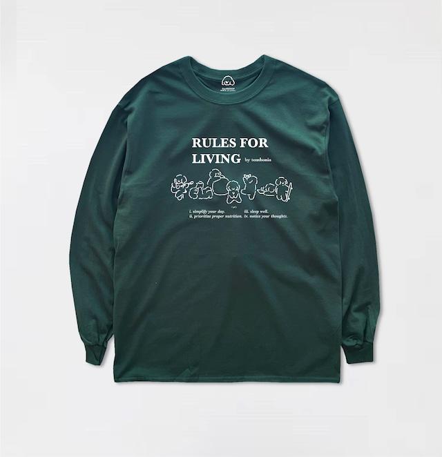 Rules for living Long sleeve t-shirt