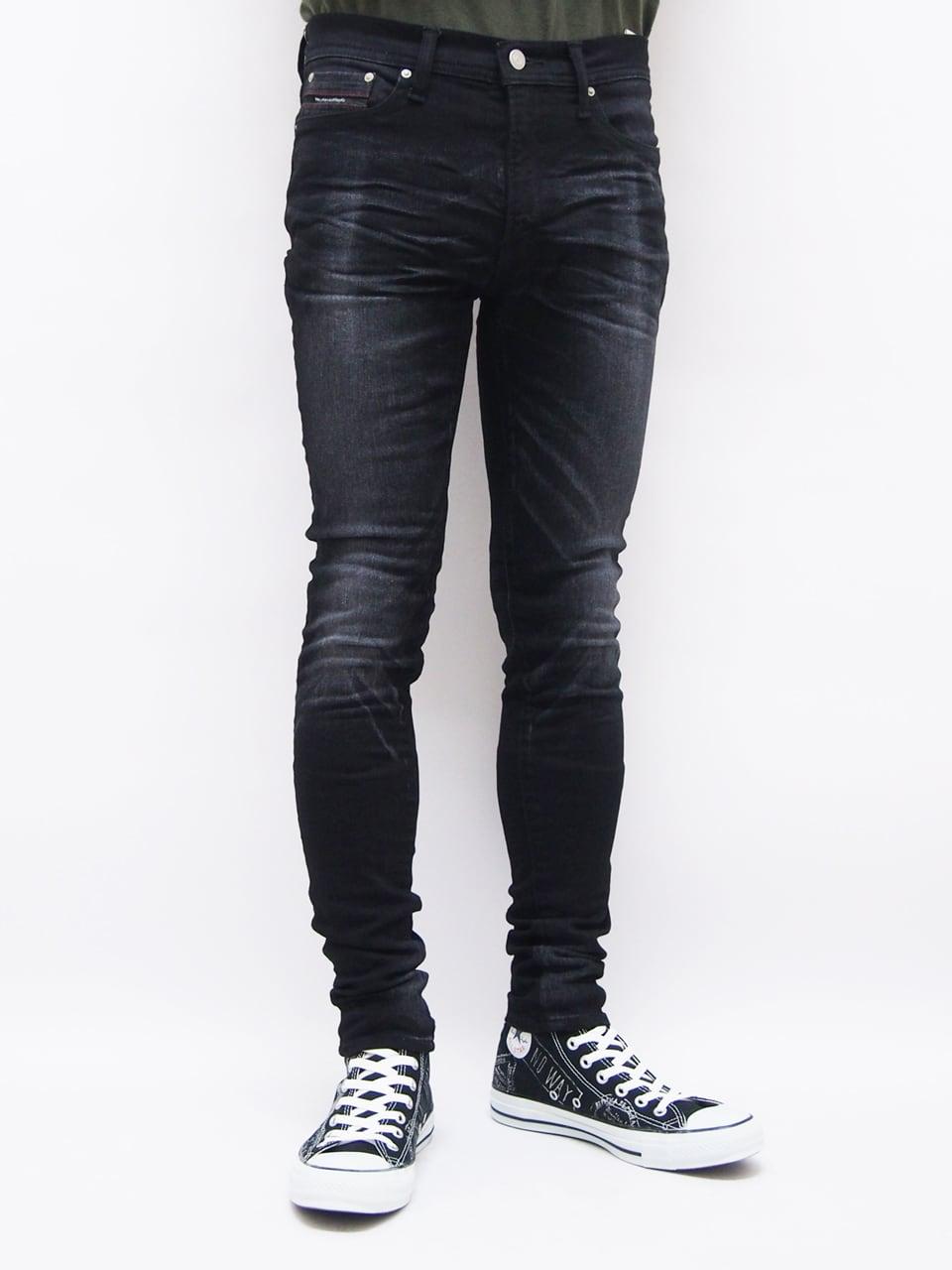 RESOUND CLOTHING (リサウンドクロージング) LOAD DENIM / BK SOLID BASIC-SSK-004-5