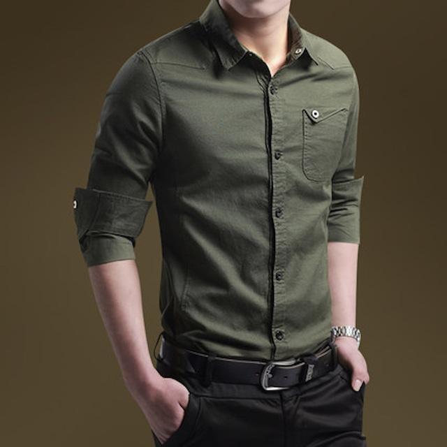 ビジネスシャツ 長袖 Yシャツ ワイシャツ メンズ インナー トップス カットソtps-1633