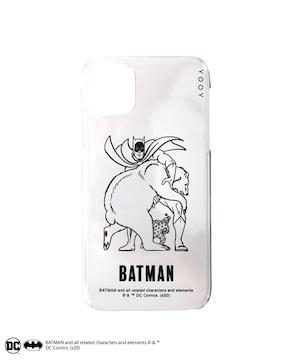 BATMAN / COLORLESS iPhone CASE W-BM021 B