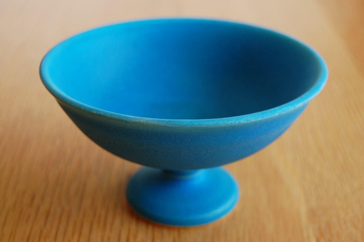 デザートカップ トルコ釉