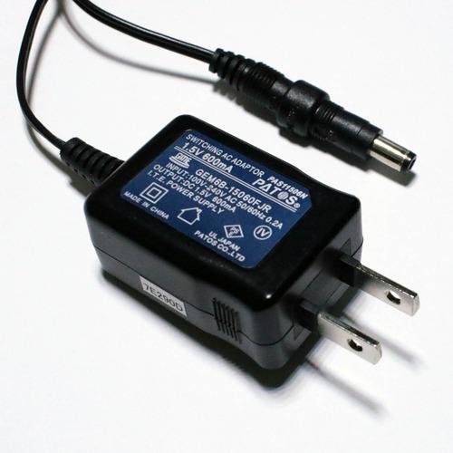 ACアダプター 1.5V 0.6A