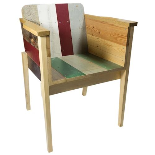 PIET HEIN EEK(ピート ヘイン イーク) Scrapwood Arm Chair スクラップウッドアームチェア