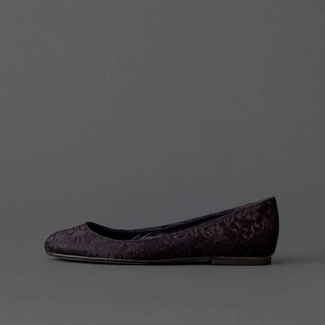 Lace / Close Toe / 1cm / BK 【3012 BK】