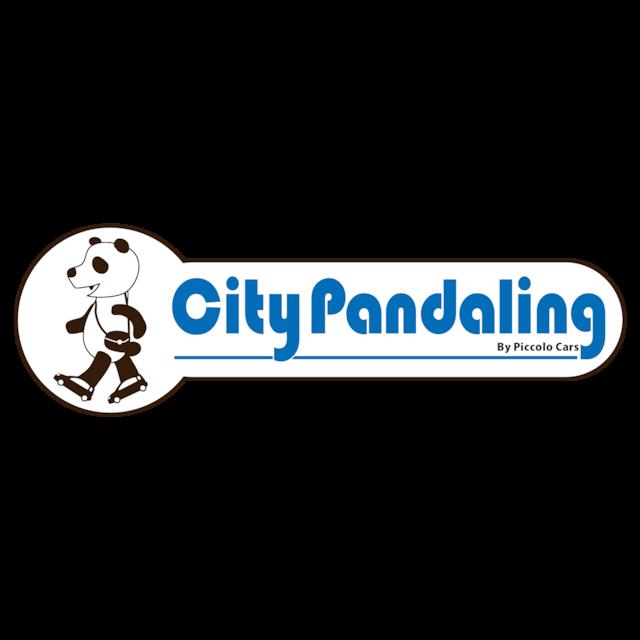FIAT PANDAステッカー「City Pandaling」