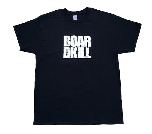 BOARDKILL × VAGA TEE BLACK