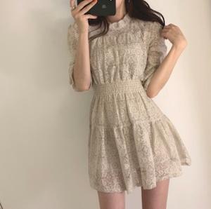 lace girl dress 2color