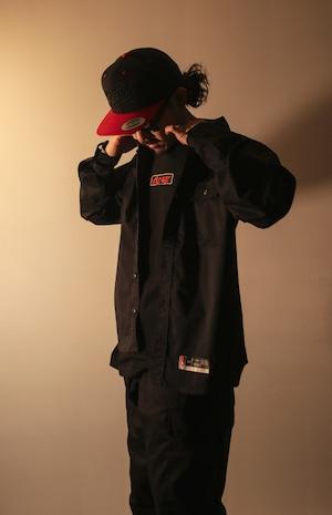 Long Sleeves Work Shirt [BLACK]