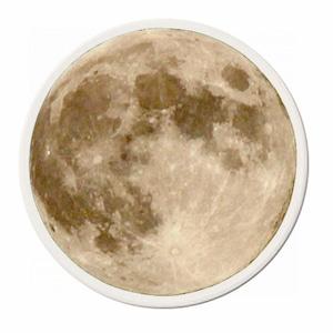 【天文学】月面コースター(金・白雲石吸水コースター)