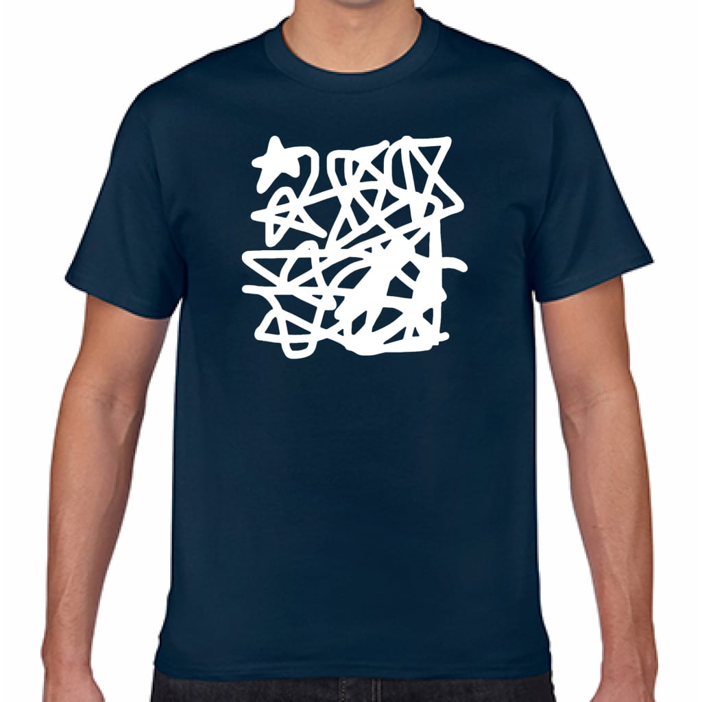 STAR_WAY/NVY【シンプルデザインTシャツ】©mayu_color.888
