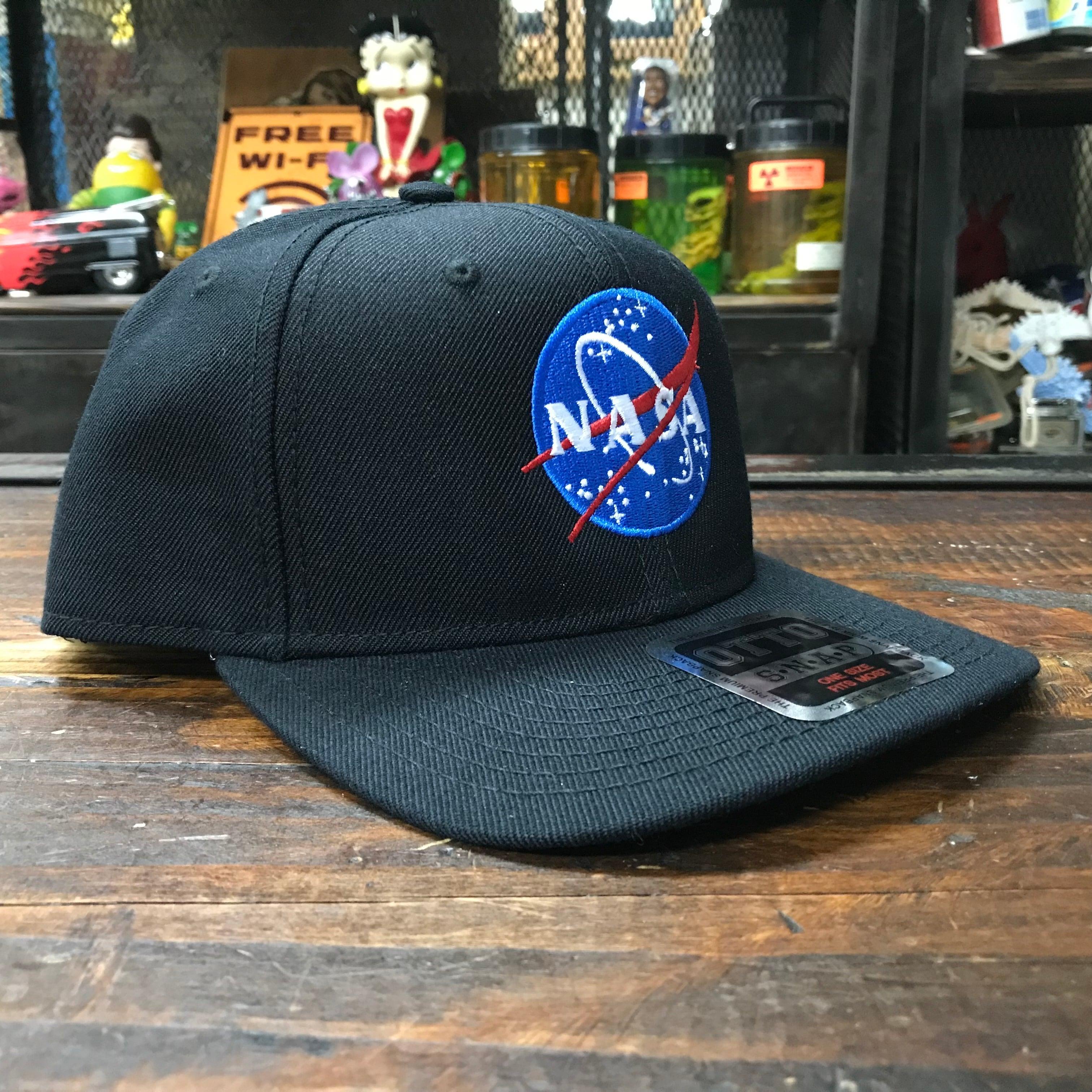 NASA OTTO(オットー)スナップバックキャップ・ウールブレンド・インサイニア(ミートボール)