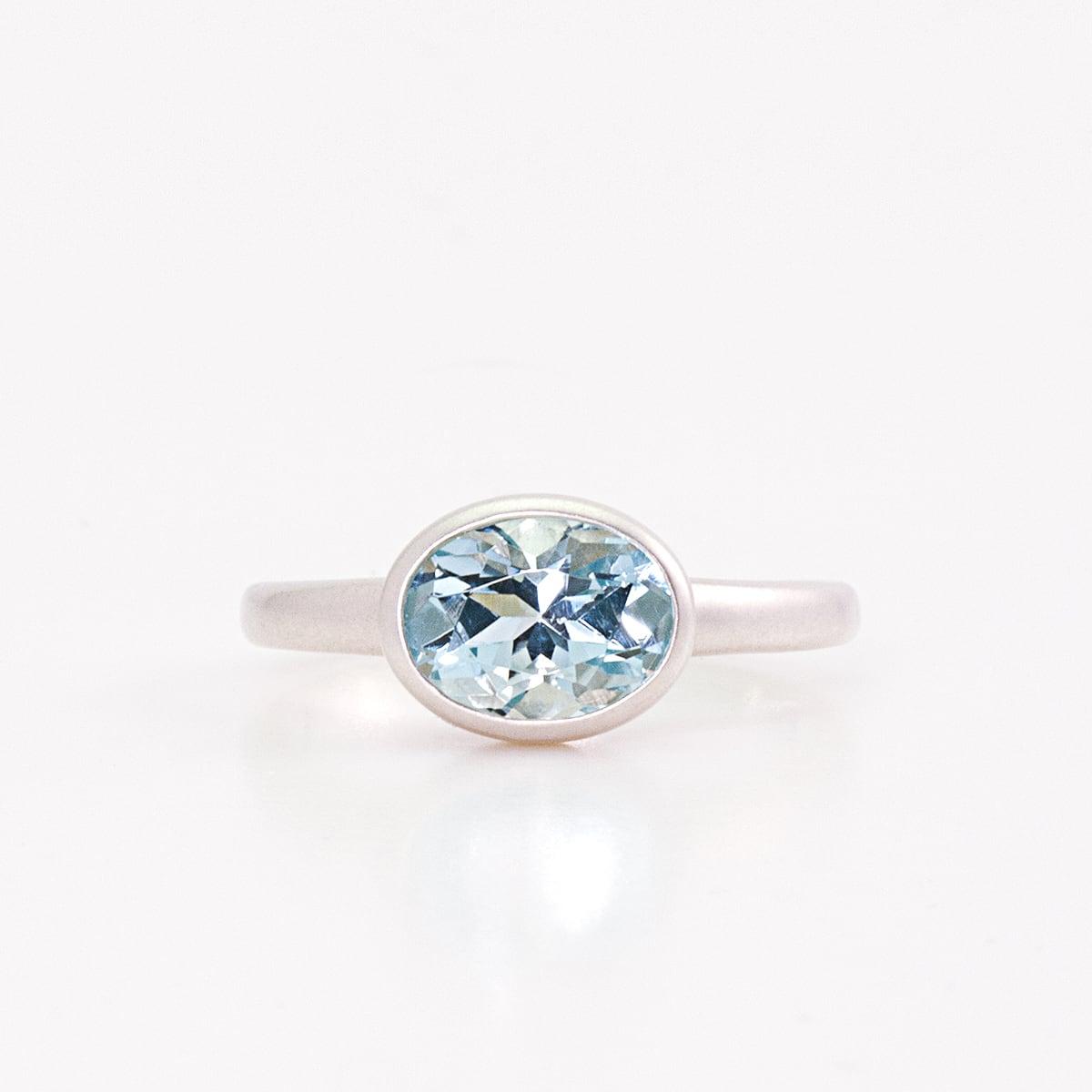 Candy ring / Aquamarine SV