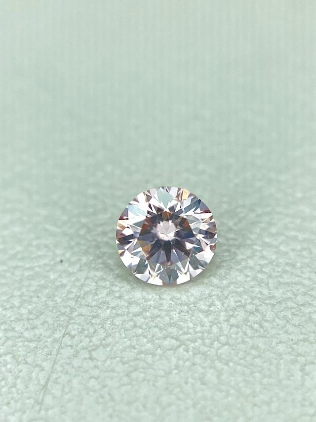 FANCY LIGHT PINK☆ダイヤモンド 0.081ct ルース