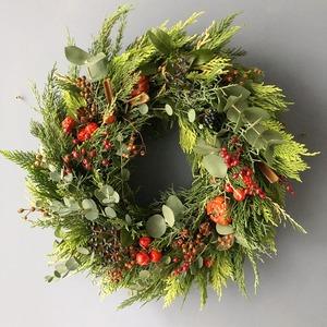 Fresh Green Wreath  S-size (〜Φ20cm)※発送は11月下旬より