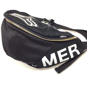 ウエストバッグ Waist bag sports black【waist008】