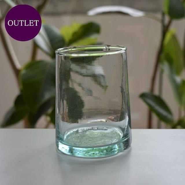 【OUTLET・ランクB】モロッコガラス タンブラー M