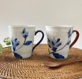 花もよう(木蓮) マグカップ