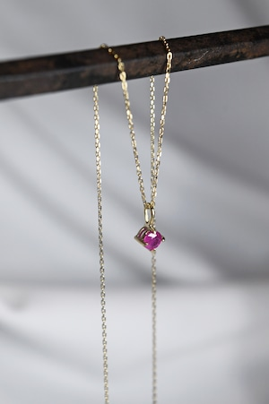 K18 Myanmar Ruby Pendant 18金ミャンマー産ルビーペンダント