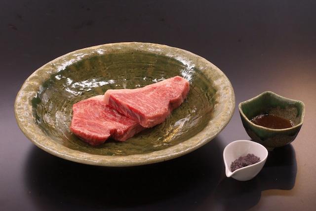 赤城牛サーロインステーキセット(2人前)