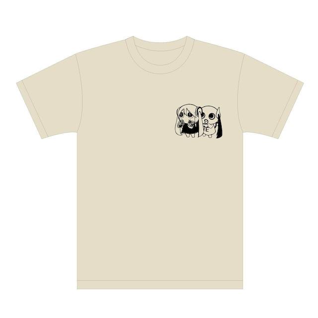 ピノキオピー 文明開花 Tシャツ(ストーン)+ステッカーセット - メイン画像