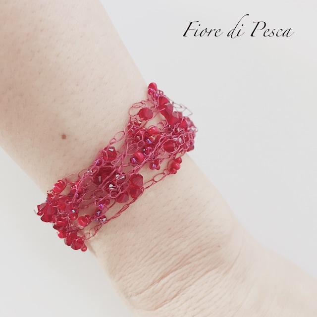 Croshet(Red) Bracelet