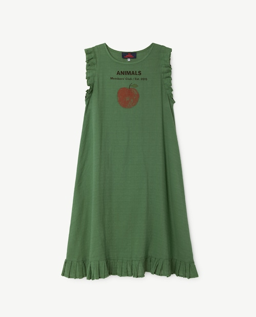 T.A.O.(THE ANIMALS OBSERVATORY) cow kids dress