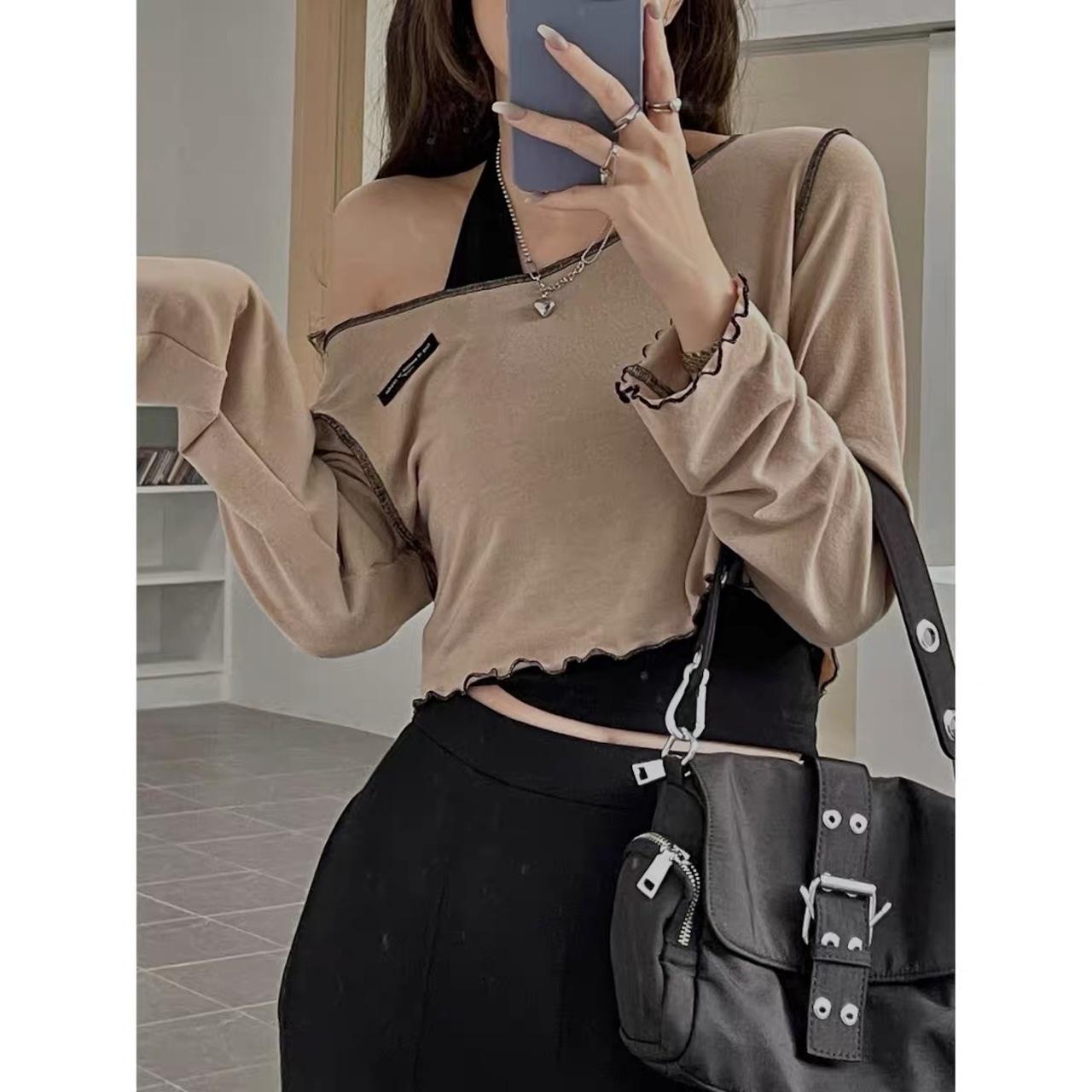 line brown tops