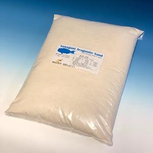 純国産サンゴ砂「Yonaguni Aragonite Sand / size-Sugar / 5kg」