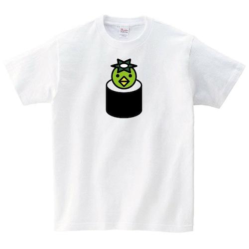 おもしろ Tシャツ メンズ レディース 半袖 カッパ巻き パロディ ゆったり トップス 白 30代 40代 ペアルック プレゼント 大きいサイズ 綿100% 160 S M L XL