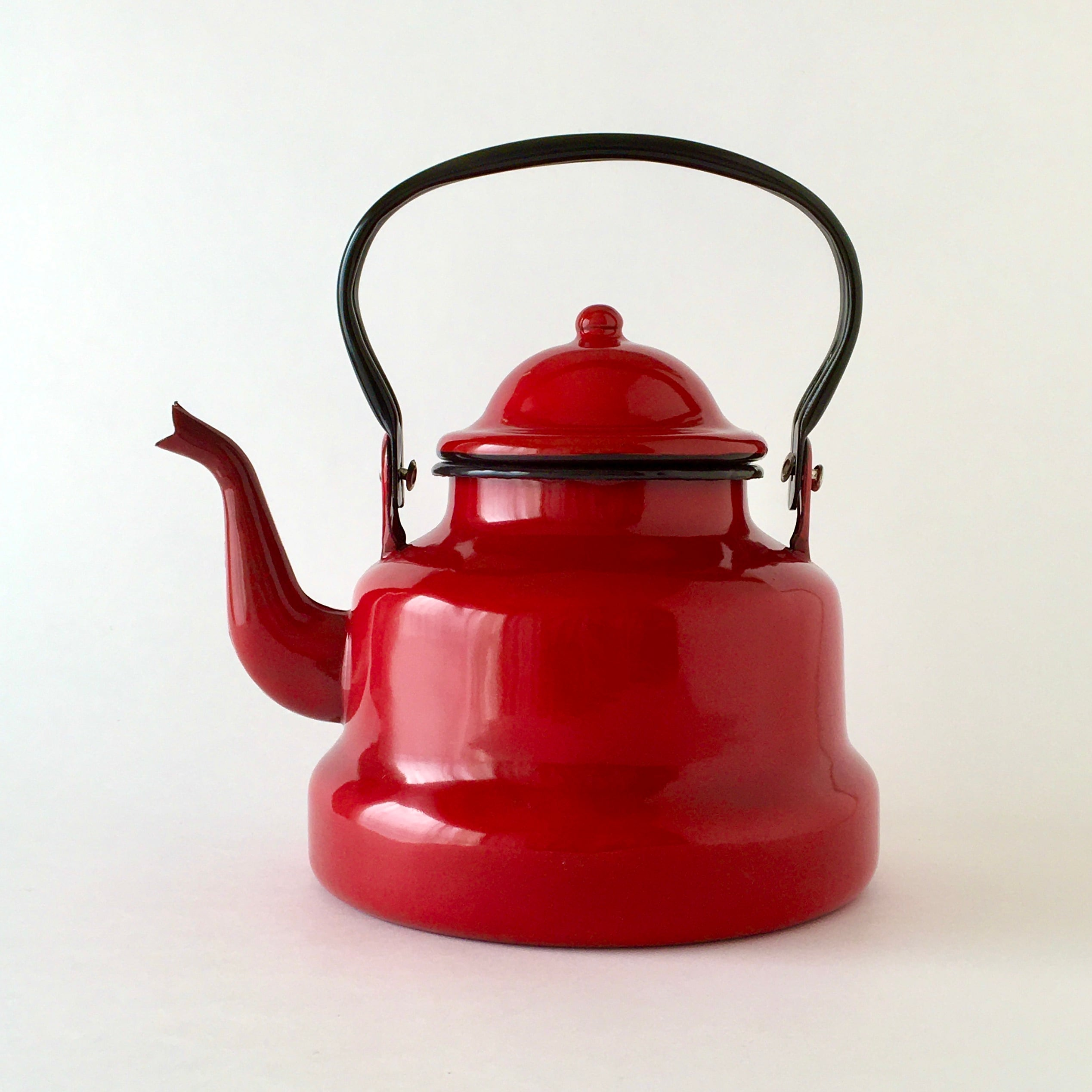 Water Kettle Red  2ℓ|ホーローのヤカン