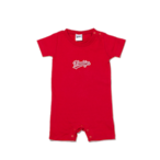 K'rooklyn Logo Baby Rompers - Red (80cm)