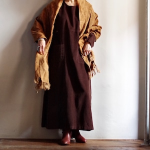 Mud dyeing Stole / 泥染め ストール