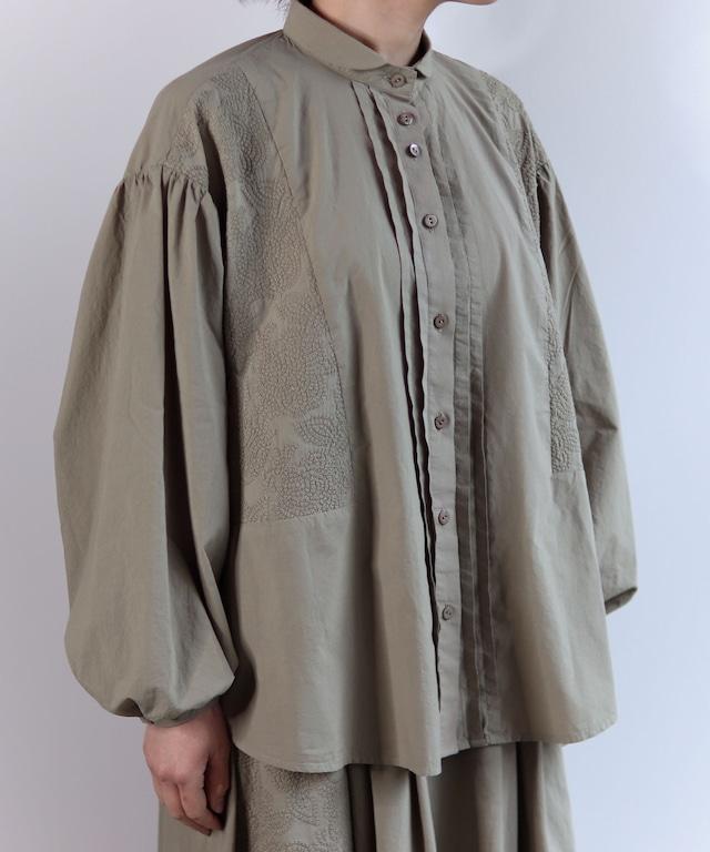 フラワーノット刺繍ブラウス(muc104)