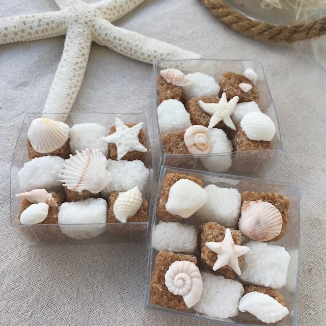 Sugar Cube - beach -  10個から承ります
