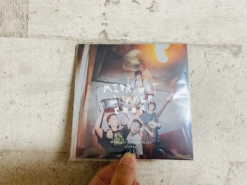 【CD】either / Midnight Summer Noon【特典つき】