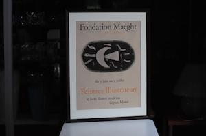 George Braque Fondation Maeght 'Peintres-Illustrateurs' Poster