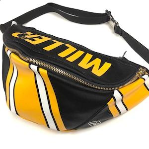 ウエストバッグ Waist bag sports black【waist007】
